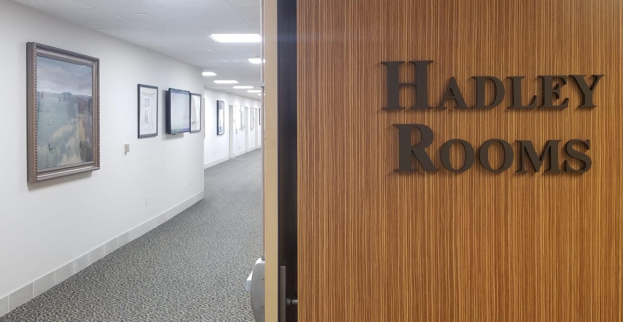 Hadley Rooms Receive Upgrades